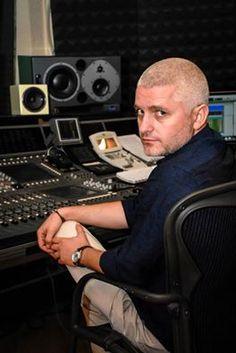 Remember that look?  Virgil Iantu at the studio