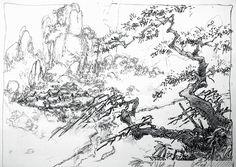 Visual Development from Mulan by Regis Loisel