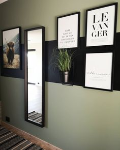 Hallway Ideas, Living Room Colors, Feels, Gallery Wall, Rooms, Interior Design, Bedroom, Antiques, Frame