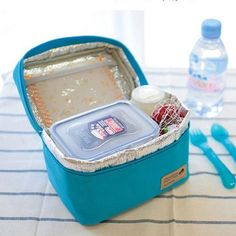 QICAI.YANZI 2017 Brand New Thermal Cooler Waterproof Picnic Storage Insulated Lunch Bag Portable Carry Tote High Quality N561