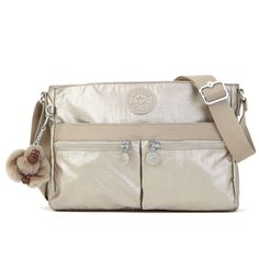 Angie Metallic Crossbody Bag - Kipling
