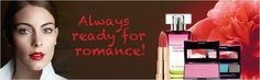 Whether you're enjoying a romantic interlude, having dinner with your man or enjoying a romantic lunch, you'll always be ready for romance with Grand Rouge! @Yves Rocher USA #GrandRougeMoment #yvesrocher