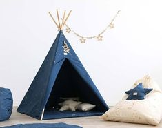 Aristote Organic Cotton Star Cushion Nobodinoz Children- A large selection of Design on Smallable, the Family Concept Store - More than 600 brands. Baby Tent, Kids Store, Kidsroom, Fabric Scraps, Childcare, Decoration, Outdoor Gear, Bean Bag Chair, Branding Design