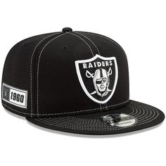 New Era 59Fifty Cap GREY Oakland Raiders noir