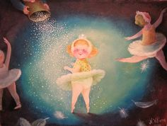 Little ballerina | by Art by Natasha Villone