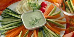 Svježe povrće s umakom od kopra — Recepti — Coolinarika