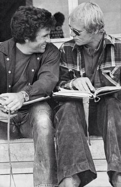 Paul Michael Glaser & David Soul talking about the script - Starsky and Hutch Detective, Cops Tv, David Best, Paul Michael Glaser, David Soul, Starsky & Hutch, Old Tv Shows, Classic Tv, Music Tv