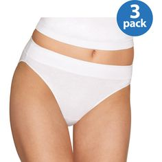 Hanes Ladies Constant Comfort Hi Cut Panties 3 Pack, Style CC43AS (00043935751449) ComfortBlend cotton offers superior softness, ultimate durability and is resistant to shrinking No pinch, no roll waistband is wide and invisible under clothes X-Temp technology for all day comfort Convenient 3 - pack