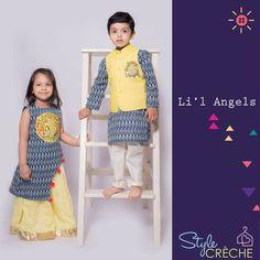 New Fashion Girl Baby Sisters 66 Ideas Kids Dress Wear, Kids Gown, Dresses Kids Girl, Kids Outfits, Kids Wear, Baby Dresses, Kids Indian Wear, Kids Ethnic Wear, Kids Party Wear