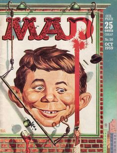 Mad Magazine, October 1959 Loved Mad!!