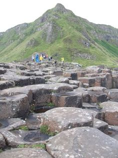 Giants Causeway, N. Ireland Now this is a fascination and a wonder! Sept. 2012.