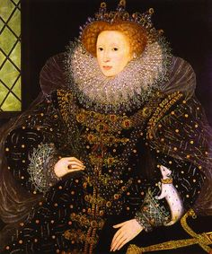 Queen Elizabeth I - I saw this actual painting at Montecute House when I went to England last March!!