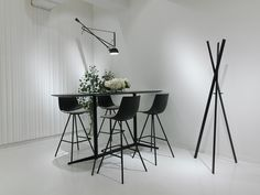 Join Barstool from Davis Furniture shown with Mez Table and Coat Rack Davis Furniture, Office Furniture, Commercial Furniture, Commercial Interiors, Contract Furniture, Industrial Furniture, Bar Stools, Contemporary, Table