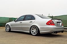 "19"" Avant Garde M590 wheels on E55 AMG Mercedes / eurowheels.com / T: 602-692-4063 by eurowheelsgallery.com, via Flickr"