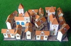 PAPERMAU: Make Your Own Medieval Mauriceburg Papercraft Dioramaby The Stronghold Rebuilt