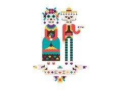 Dia de los muertos by Elena Lazutina
