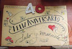 Celebraciones Caseras: cartel 40 aniversario