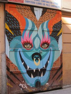 IMG_8640 by Diane Silveria, via Flickr  Barcelona street art