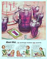 Kool-Aid Soft Drink Powder 1954 Ad Picture