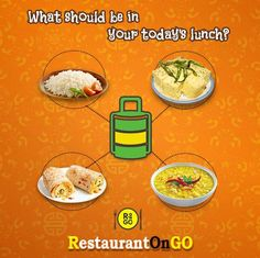 """Wow now you can choose menu of your tiffin box. Choose tiffin which taste your bud on """"restaurantongo"""" app and be super charged. Download """"restaurantongo"""" app and enjoy tummy full meal. #food #deliveryfood #orderfoodonline #restaurantongo #lunch #tiffin #eatery #restaurant #dinner Tiffin Box, Order Food Online, Bud, Menu, Lunch, Restaurant, Dinner, Menu Board Design, Dining"""