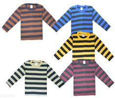 Tshirts & Polos  Elegant Kid's T-Shirts (Pack Of 5)  Fabric: Cotton Sleeves: Sleeves Are Included Size: Age Group (6 Months - 12 Months) - 14 in Age Group (12 Months - 18 Months) - 16 in Age Group (18 Months - 24 Months) - 18 in Age Group (2 - 3 Years) - 20 in Age Group (3 - 4 Years) - 22 in Age Group (4 - 5 Years) - 24 in Age Group (5 - 6 Years) - 26 in Age Group (6 - 7 Years) - 28 in Type: Stitched Description: It Has Pack Of 5 Of Kid's T-Shirts Work: Printed Country of Origin: India Sizes Available: 2-3 Years, 3-4 Years, 4-5 Years, 3-6 Months, 6-9 Months, 6-12 Months, 12-18 Months, 18-24 Months, 1-2 Years *Proof of Safe Delivery! Click to know on Safety Standards of Delivery Partners- https://ltl.sh/y_nZrAV3  Catalog Rating: ★4 (11486)  Catalog Name: Latest Elegant Kid's T-Shirts (Pack Of 5) Vol 1 CatalogID_420213 C59-SC1173 Code: 343-3069781-