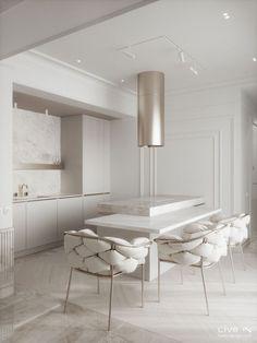 Luxury Kitchen Design, Kitchen Room Design, Home Room Design, Dream Home Design, Home Decor Kitchen, Interior Design Kitchen, House Design, Kitchen Ideas, Interior Minimalista