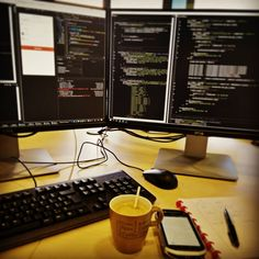 Give me coffee and I'll give you code :D #AngularJs #Ionic #Framework #Cordova #development #android #ios #consultation #nodejs #npm #web #101 #setup #dell #high #res #monitors #ssd #work #project #motorola #bluebird #native #barcode #scanner #api #request #coffee #transformation