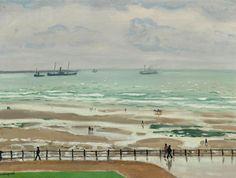 Albert Marquet - La digne Ste Beuve a Boulogne-sur-Mer, au bord de la plage