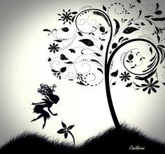 fairy tattoo idea