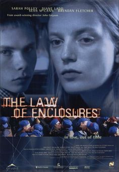 The Law of Enclosures poster, t-shirt, mouse pad 1990s Movies, Cinema Movies, Drama Movies, Jasmine Guy, Sarah Polley, Teenage Years, Time Out, Film Posters, Creative Director