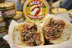 Beck's Train Wreck Creole cheesesteak is ready for its closeup.
