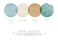 color inspiration DD 2014 *brushstrokes* | fresh hues