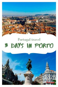 Wondering what to do in Porto in 3 days? Check out our simple guide to make the most out of your time in the beautiful Portuguese city. #Portugal #Porto #travel Portugal Travel Guide, Europe Travel Guide, Travel Abroad, Spain Travel, Travel Guides, Europe Destinations, Places In Europe, Visit Portugal, Spain And Portugal