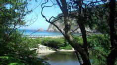 La playa de la Concha de Artedo, en Cudillero