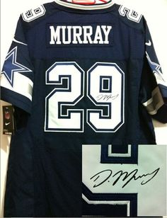 ... NFL Dallas Cowboys 29 DeMarco Murray Navy Blue Team Color Men Stitched  Elite Signed Jersey DeMarco Murray Dallas Cowboys Navy Blue Name Number T- Shirt ... 41a58ee6b