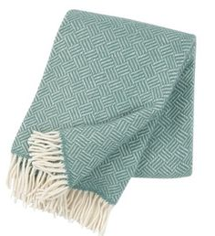 News Zealand lambswool blanket by Klippan who are a Swedish based family run business, established in Pelican Story stocks the Samba blanket in mint & soft pink. Perfect as a blanket or sofa throw. Samba, Classic Throws, Style Classique, Plaid, Swedish Design, Scandinavian Design, Warm Blankets, Wool Blanket, Decoration