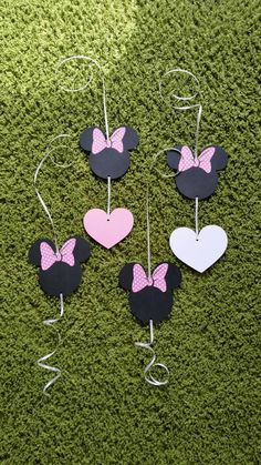 Minnie mouse birthday Minnie mouse garland Minnie by paperpetalls