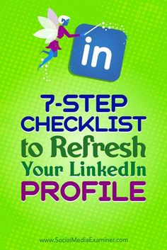 Reviewing your LinkedIn presence on a regular basis ensures that you add new accomplishments and get rid of irrelevant information.