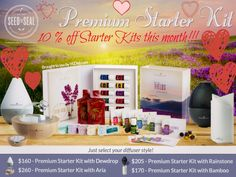 Starter kits are 10 % off this month! It's a great time to sign up!! For more info; http://yldist.com/wenterfarms