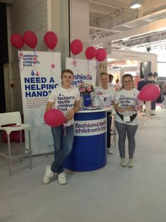 Lovely volunteers by @FTCT at #Pure34, our chosen charity for the show!