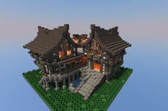 A small medieval restaurant :) mine your craft and other.