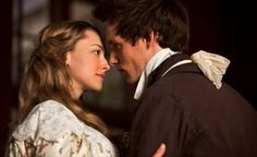 """""""A heart full of love, a heart full of you."""" Marius (Eddie Redmayne) and Cosette (Amanda Seyfried - Les Miserables, 2012 Amanda Seyfried, Les Miserables Movie, Les Miserables 2012, Eddie Redmayne, Victor Hugo, Sound Of Music, 2012 Movie, Movie Tv, Disney Channel"""