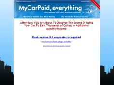 Mycarpaid.com – Earn Money From Renting Your Car – 1:30 Low Refunds!