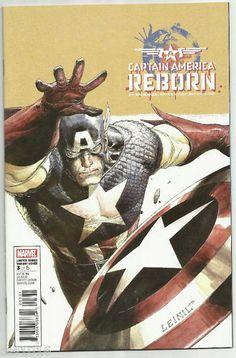 CAPTAIN AMERICA REBORN #3 Great 1/10 VARIANT by Leinil Yu! ~NM~ http://r.ebay.com/AoObn7