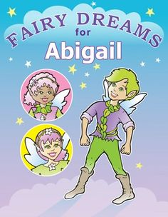 """Fairy Coloring Book. Width = 8.5"""", Height = 11"""""""