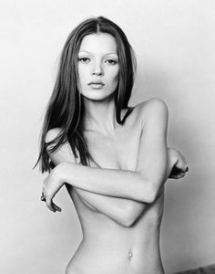 Kate Moss. Photo: Michel Haddi, 1993.