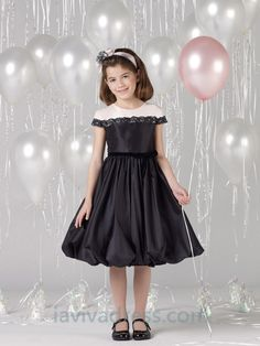 A-line Scoop Ruffles Flower Girl Dresses