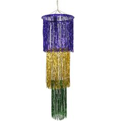 Buy Mardi Gras Shimmering Chandelier Add a little class to your Mardi Gras party by hanging up this Mardi Gras Shimmering Chandelier! You can also use this chandelier for your purple, gold and green New Year's Eve party. Green Chandeliers, Turquoise Chandelier, Gold Chandelier, Mardi Gras Beads, Mardi Gras Party, Purple Accessories, Party Accessories, Purple Gold, Green And Purple