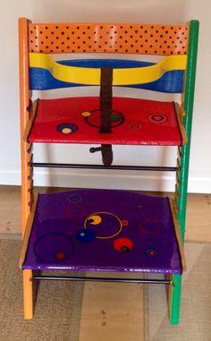 Tripp Trapp chair repainted