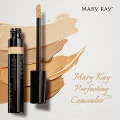 Mary Kay Perfecting Concealer, an essential step for achieving a natural-, even-looking complexion. https://www.marykay.com/LaShon